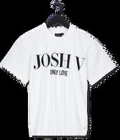 Witte JOSH V T-shirt TEDDY ONLY LOVE