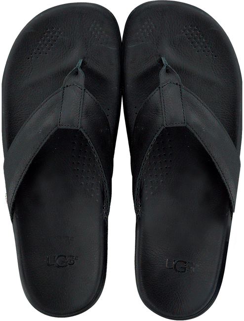 Zwarte UGG Slippers TENOCH LUXE  - large