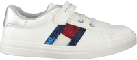 Witte TOMMY HILFIGER Lage sneakers LOW CUT LACE-UP/VELCRO SNEAKER  - medium