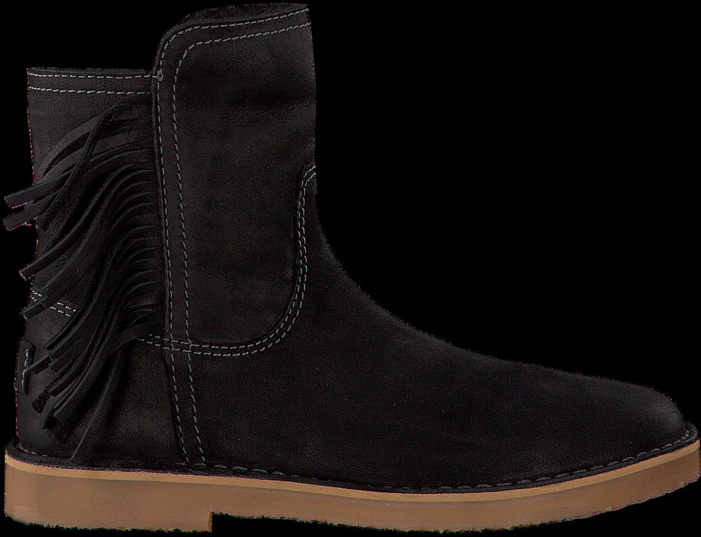 Zwarte GIGA Lange laarzen 8671   Omoda