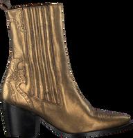 Gouden TANGO Enkellaarsjes ELLA SQUARE 9  - medium