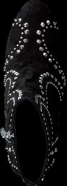 Zwarte WHAT FOR Enkellaarsjes ARIELLE  - large