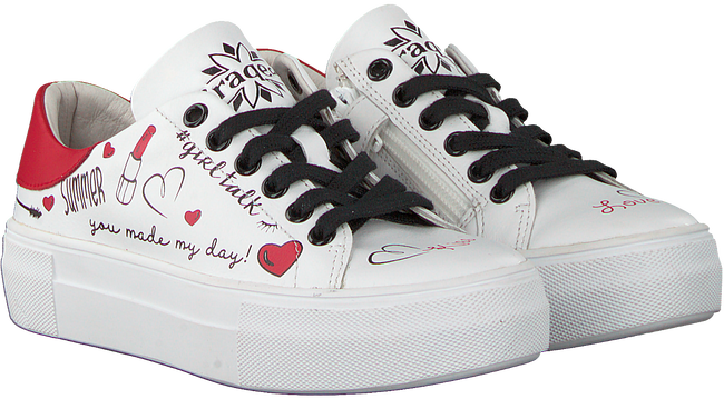 Witte BRAQEEZ Sneakers DANNI DREAM  - large