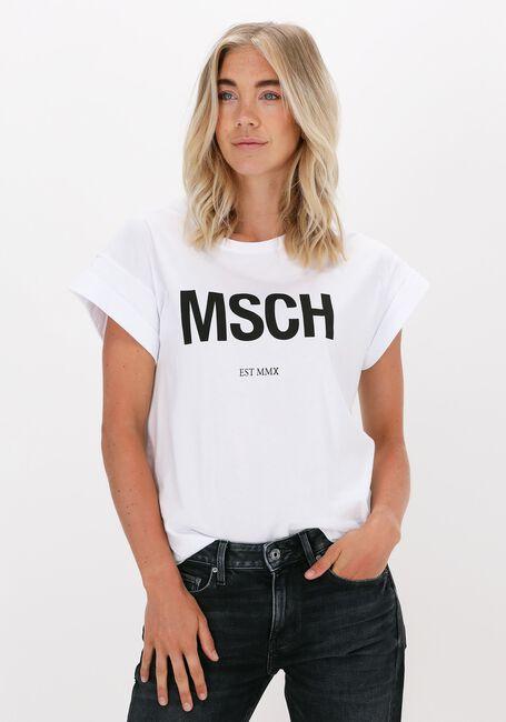 Witte MSCH COPENHAGEN T-shirt ALVA MSCH STD TEE - large