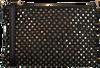 Zwarte DEPECHE Schoudertas SMALL BAG CLUTCH  - small