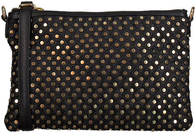 Zwarte DEPECHE Schoudertas SMALL BAG CLUTCH  - large