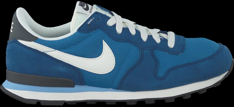 blauwe nike sneakers internationalist heren