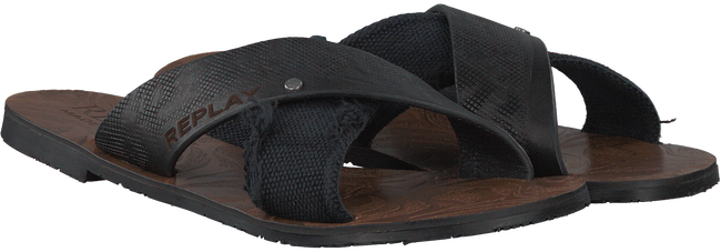 Zwarte REPLAY Slippers CARRIK  - large