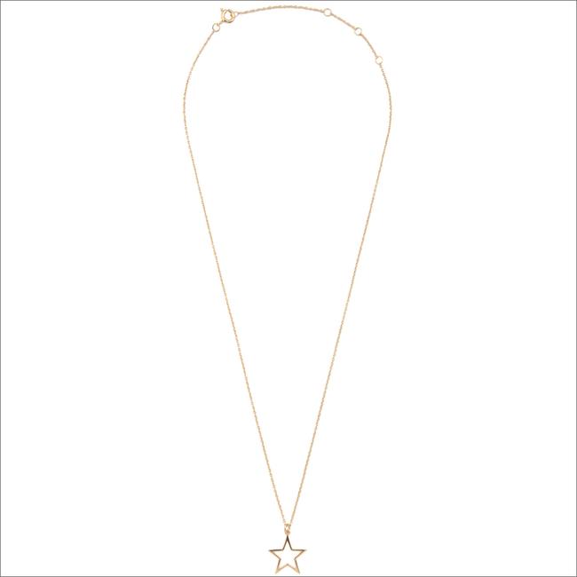 Gouden ATLITW STUDIO Ketting SOUVENIR NECKLACE STAR - large