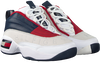Witte TOMMY HILFIGER Hoge sneaker THE SKEW HERITAGE WMNS  - small