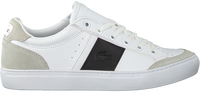 Witte LACOSTE Lage sneakers COURTLINE 319 - medium