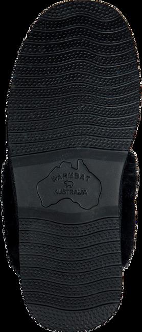 Zwarte WARMBAT Pantoffels FLURRY  - large