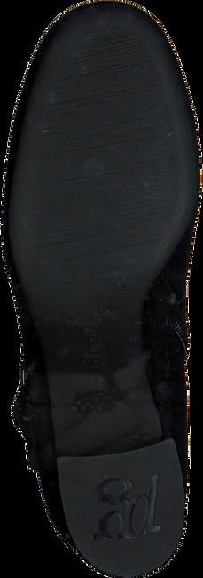 Zwarte PAUL GREEN Enkellaarsjes 9075  - large