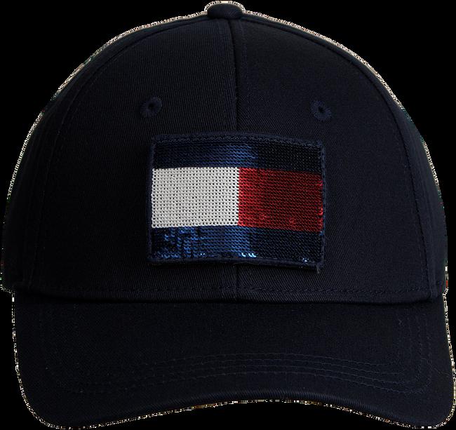 Blauwe TOMMY HILFIGER Pet SWAP YOUR PATCH CAP  - large