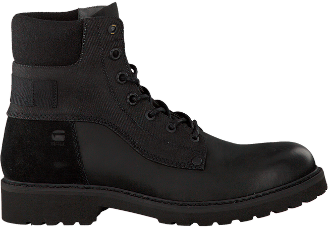 Zwarte G-STAR RAW Veterboots D06365  - large