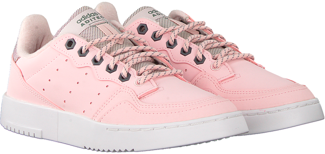 Roze ADIDAS Lage sneakers SUPERCOURT W  - large