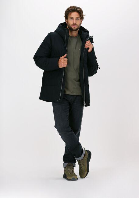 Donkerblauwe ELVINE Gewatteerde jas BROR - large