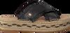 Zwarte FRED DE LA BRETONIERE Slippers 152010101  - small