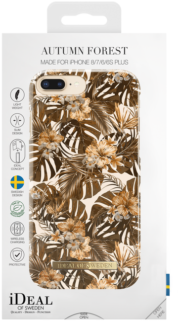 Bruine IDEAL OF SWEDEN Telefoonhoesje CASE IPHONE 8/7/6/6S PLUS - large