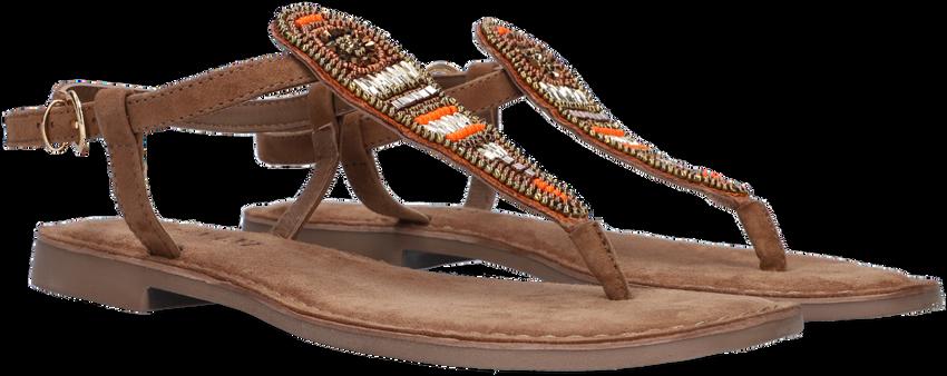 Taupe LAZAMANI Slippers 75.774  - larger