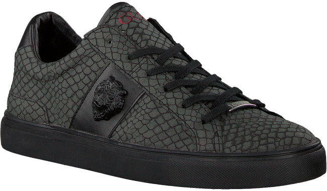 Grijze GUESS Sneakers LUISS B PRINTED ECO LEATHER  - large