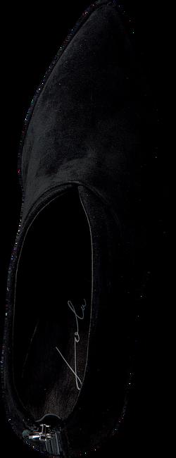 Zwarte LOLA CRUZ Enkellaarsjes 275T30BK-D-I19  - large