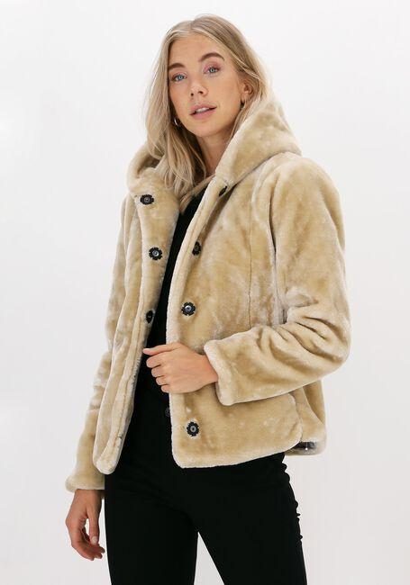 Beige GIACOMO THE JACKET Faux fur jas 13 LT FUR  - large