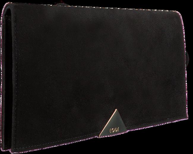 Zwarte LODI Clutch SAINT  - large
