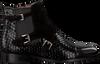 Zwarte PERTINI Enkellaarsjes 182W15205D1 - small