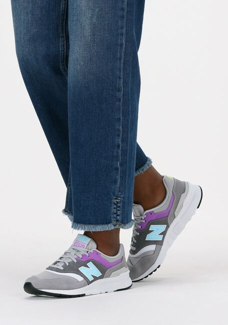 Grijze NEW BALANCE Lage sneakers CW997  - large