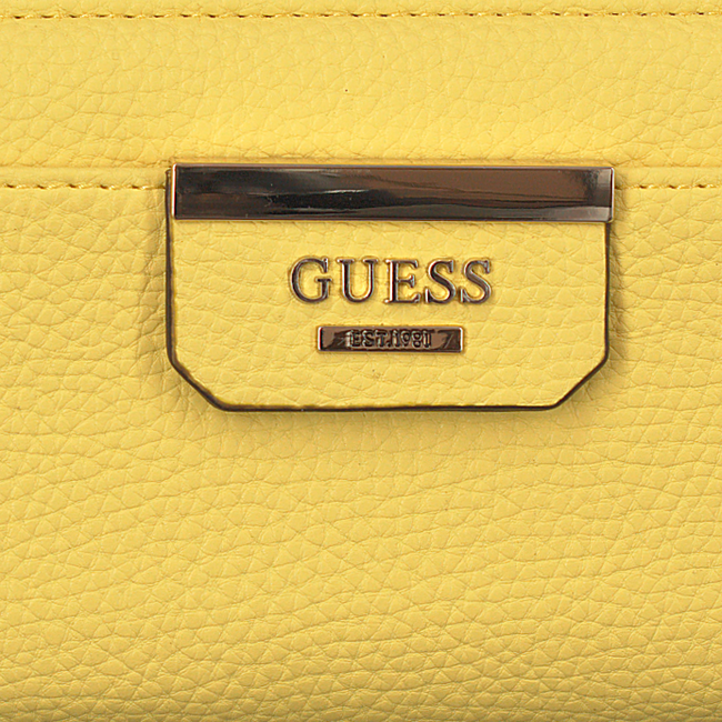 Gele GUESS Portemonnee SWVG64 22460 - large