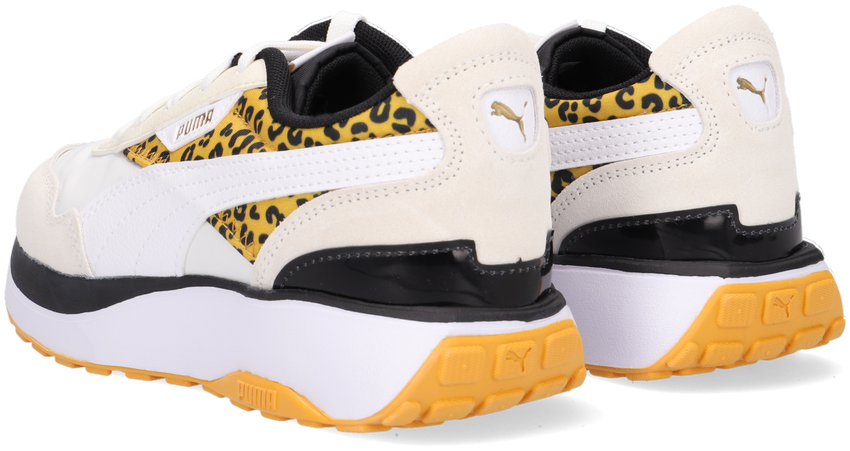 Witte PUMA Lage sneakers CRUISE RIDER ROAR  - larger