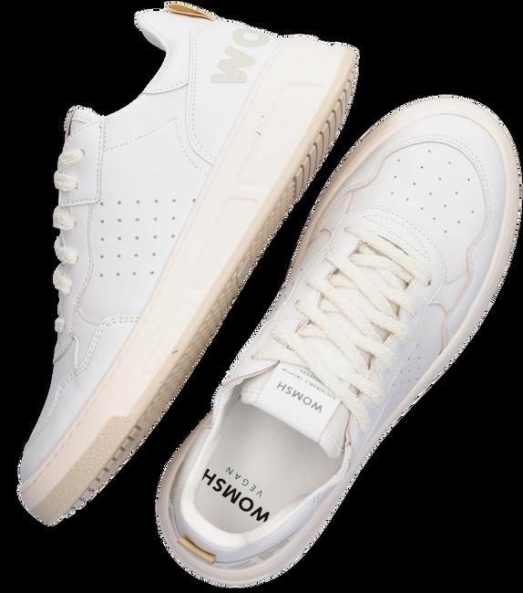 Witte WOMSH Lage sneakers VEGAN HYPER  - large