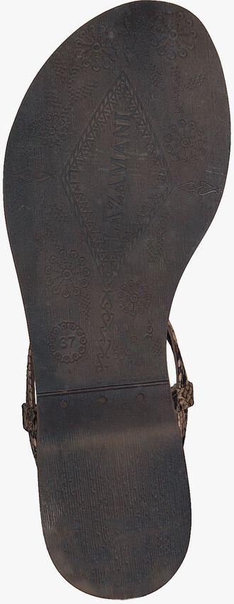 Bruine LAZAMANI Sandalen 75.611  - larger