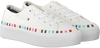 Witte TOMMY HILFIGER Sneakers RAINBOW PLATFORM  - small