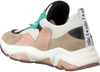 Beige CLIC! Lage sneakers CL-20103  - small