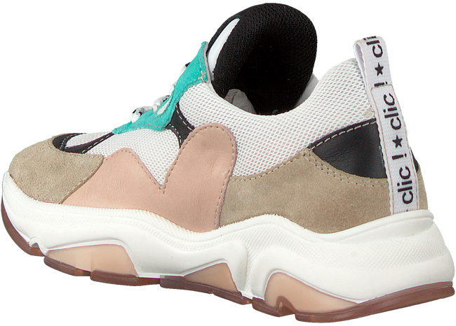 Beige CLIC! Lage sneakers CL-20103  - large