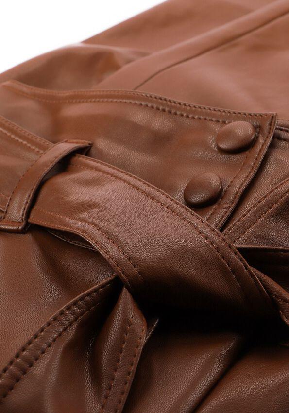 Cognac LIU JO Pantalon PANT.TS SPALMATO - larger