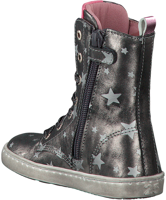 Zilveren SHOESME Lange laarzen UR7W023  - large
