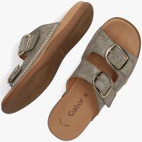 Groene GABOR Slipper 703 - medium