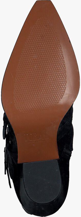 Zwarte TORAL Enkellaarsjes 12553  - larger