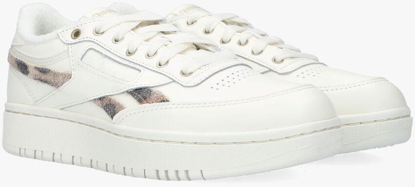 Beige REEBOK Lage sneakers CLUB C DOUBLE WMN  - larger