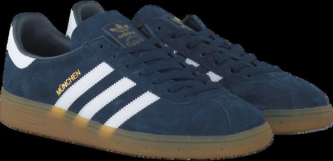 Blauwe ADIDAS Sneakers MUNCHEN DAMES  - large