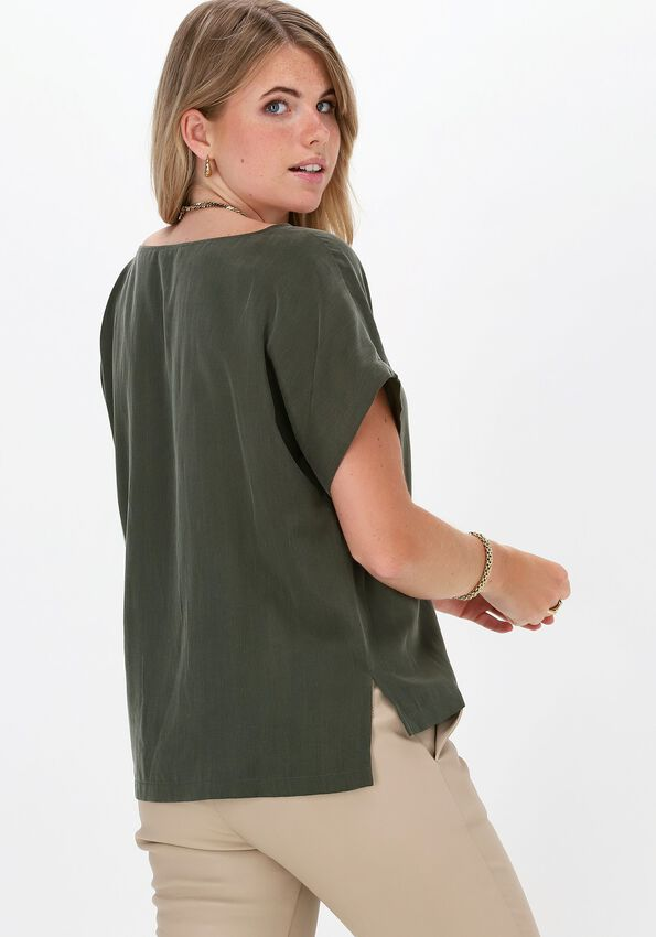 Groene DRYKORN Top SOMIA  - larger
