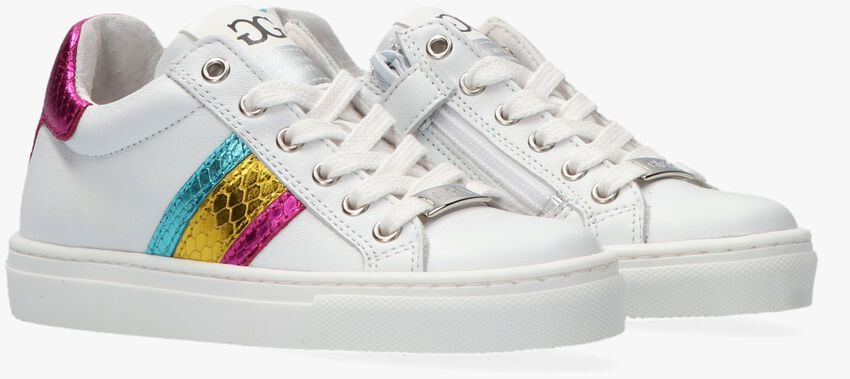 Witte GIGA Lage sneakers G3719  - larger