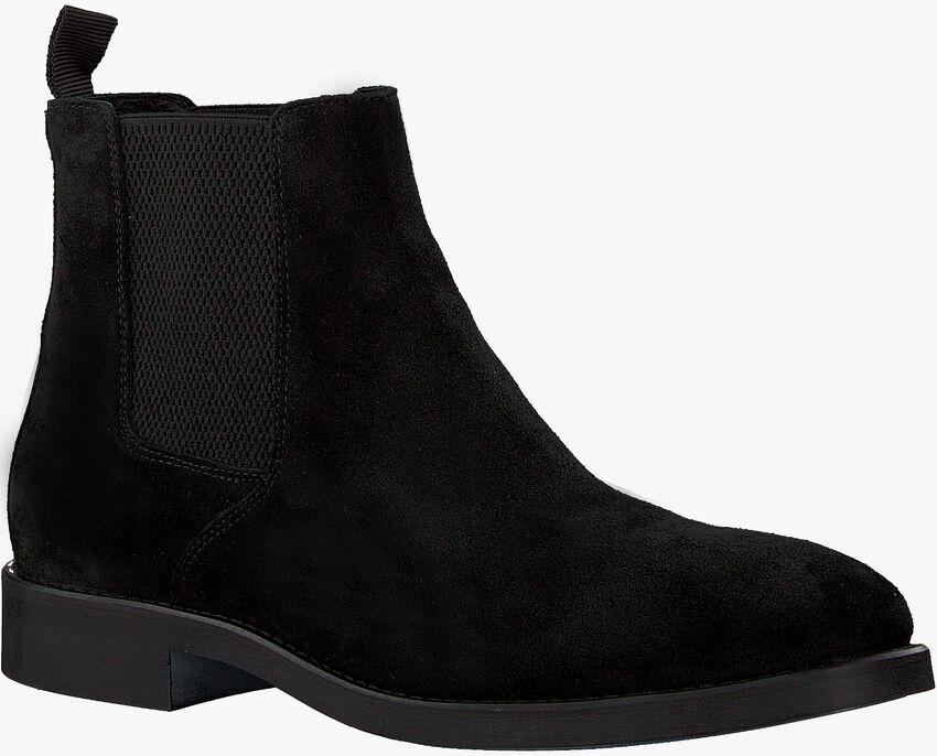 Zwarte MAZZELTOV Chelsea boots GOLSING  - larger