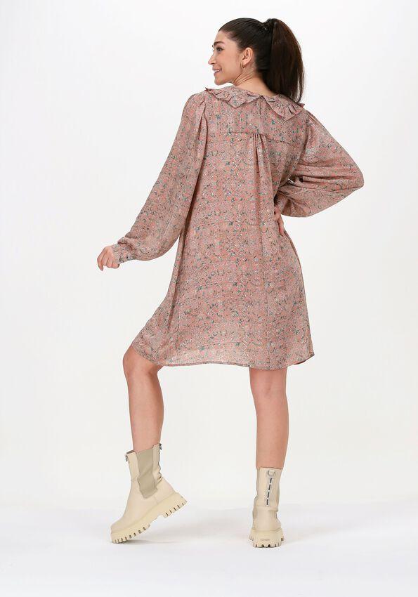 Roze SISSEL EDELBO Midi jurk BERLIN DRESS - larger