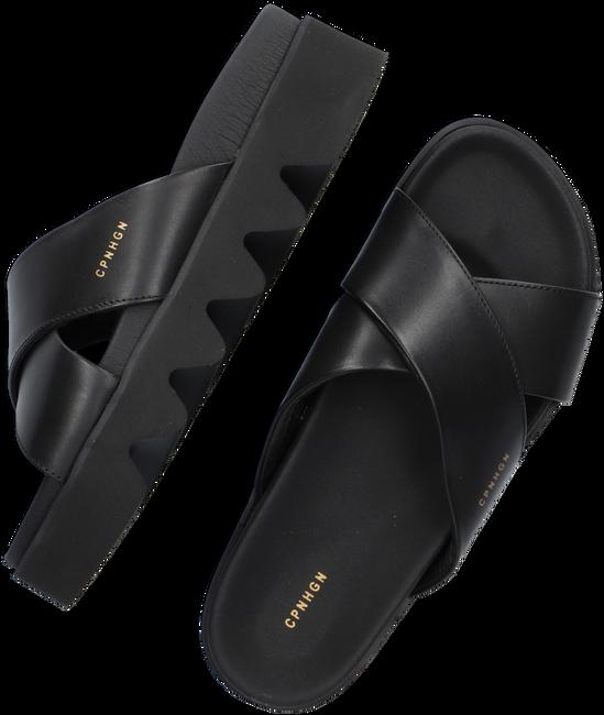 Zwarte COPENHAGEN STUDIOS Slippers CPH706  - large