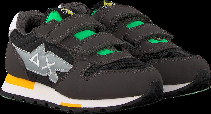 Grijze SUN68 Lage sneakers NIKI CRAZY BOYS - larger