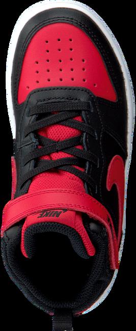 Zwarte NIKE Hoge sneaker COURT BOROUGH MID 2 (GS)  - large